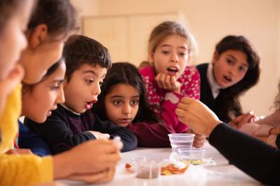 İlköğretim Çağındaki Çocuklara Eğitim Alanları
